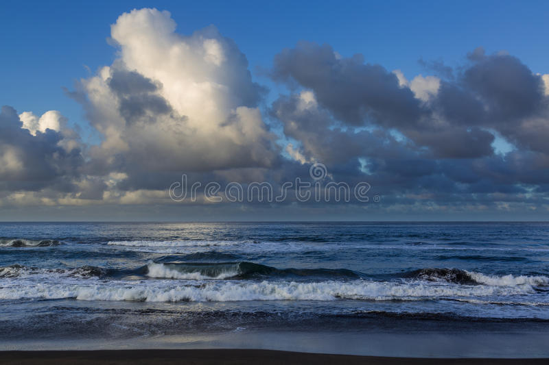 Coast town of Sao Rogue on the island of Sao Miguel royalty free stock images