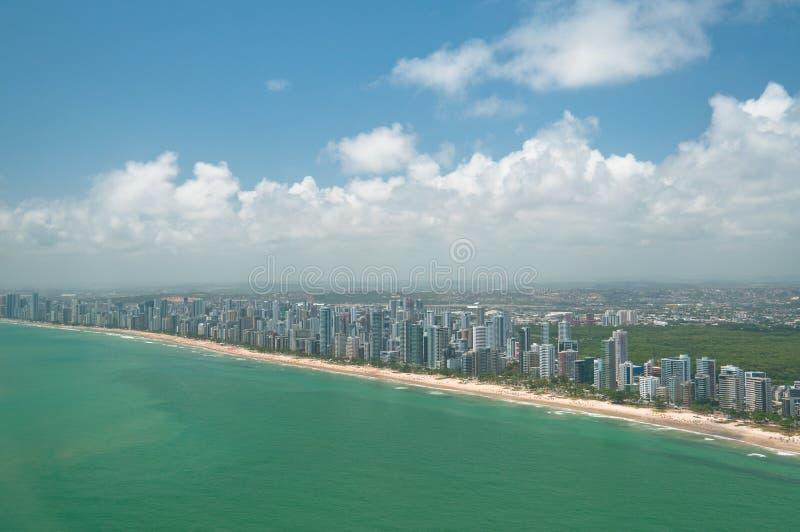 Coast urban royalty free stock photo