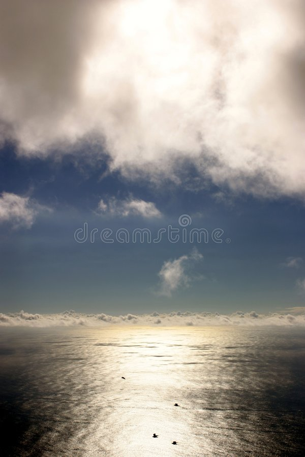 Download Coast View stock image. Image of cloud, reflection, glossy - 513639