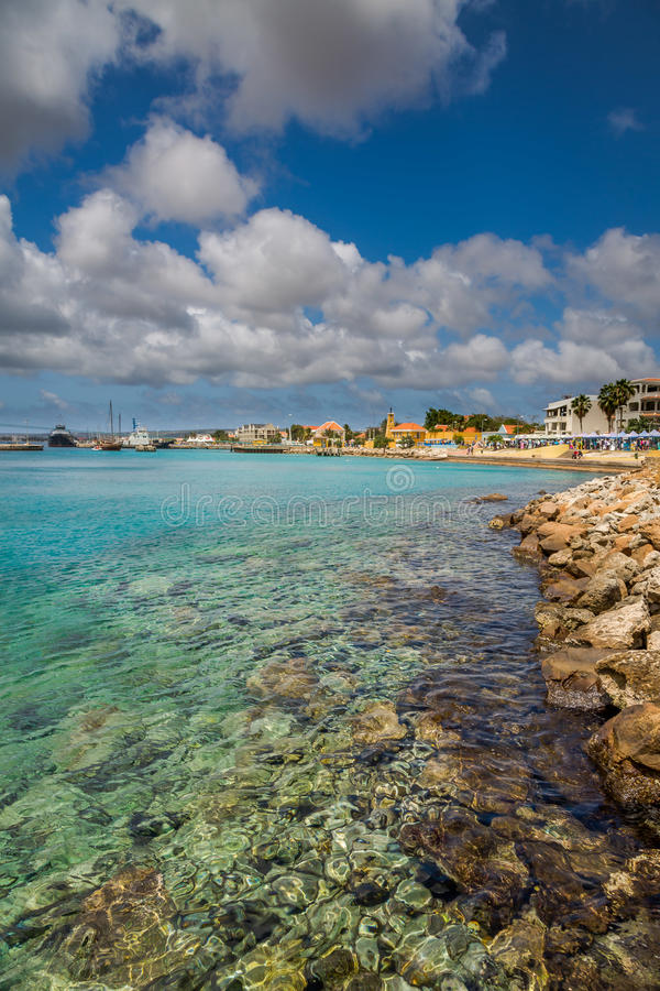 Free Coast View Of Bonaire`s Water Royalty Free Stock Images - 90477819