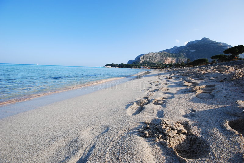Download Coastal Beach - Sicily stock photo. Image of outdoors - 3985134