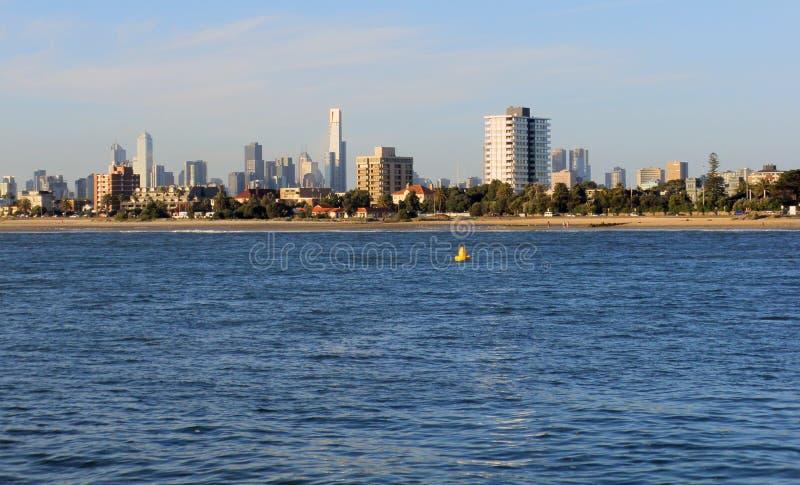 Coastal city stock images