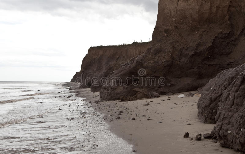 Coastal Erosion royalty free stock photo
