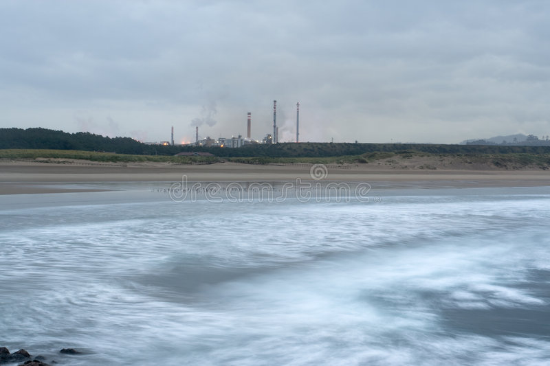 Coastal industry royalty free stock images
