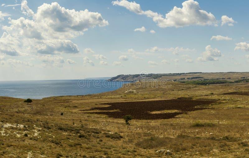 Download Otranto Coast Landscape Panorama Stock Photo - Image of inlet, apulia: 34073224