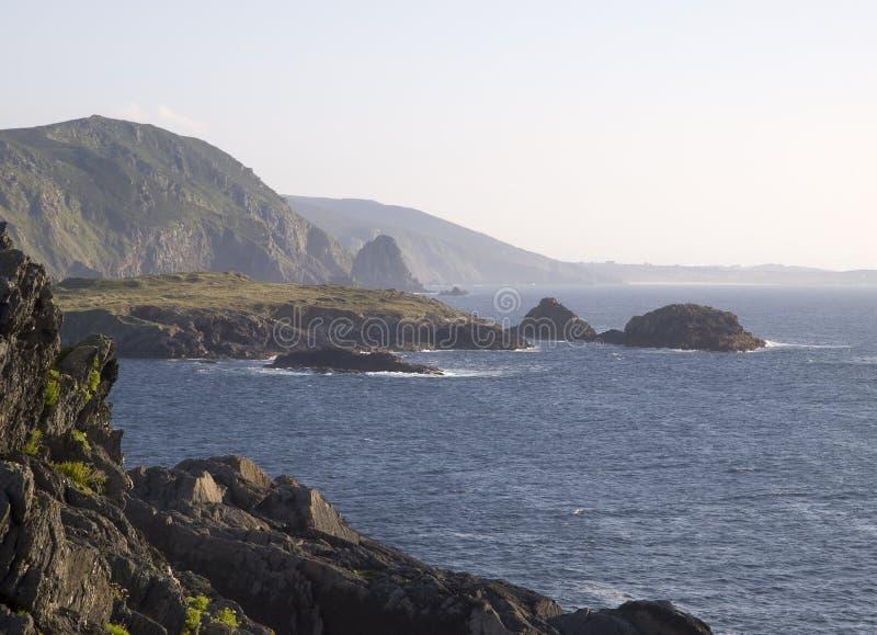 Download Coastal landscape stock photo. Image of galicia, water - 28933666