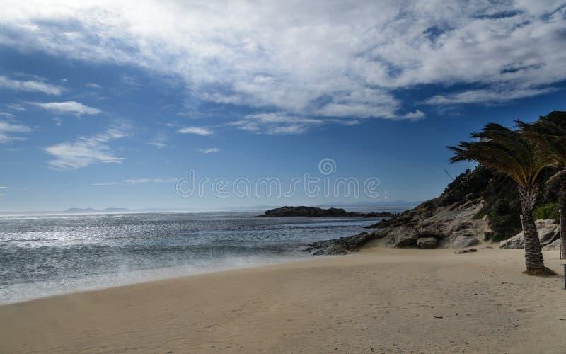 Coastal landscape in Costa Brava Catalonia, Spain stock photography