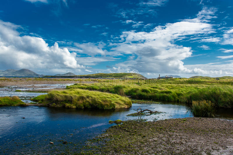 Coastal Landscape in Ireland stock images