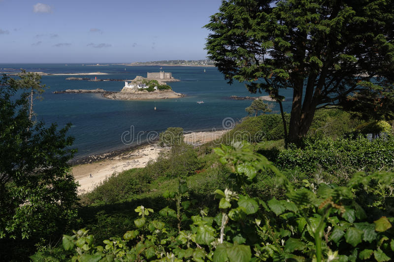 Coastal landscape royalty free stock images