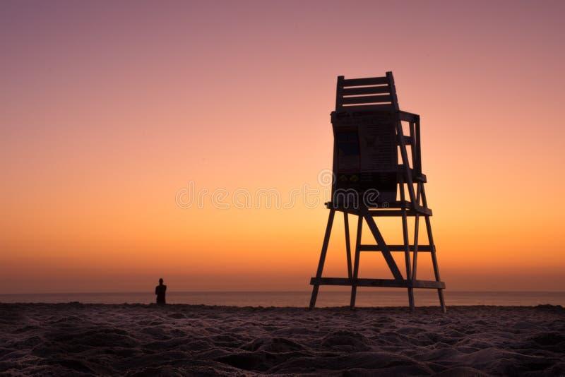 Coastal Mindfulness royalty free stock photos