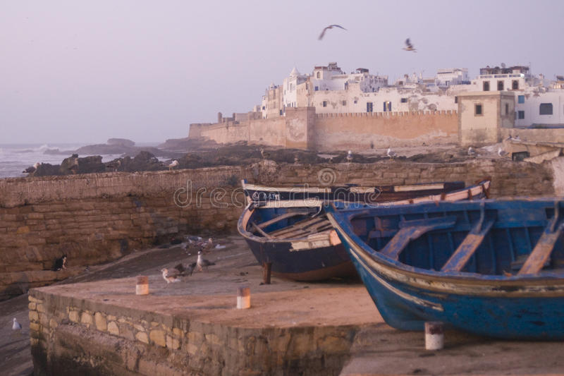 Download Coastal Morocco stock image. Image of harbor, essaouira - 15581535