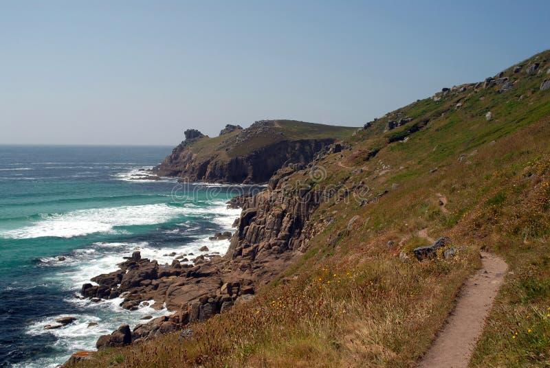 Download Coastal Path stock image. Image of shore, seaside, walk - 15326673