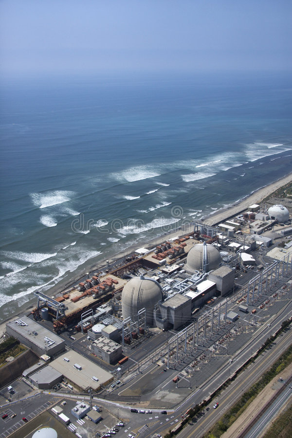 Free Coastal Power Plant. Royalty Free Stock Images - 3611379