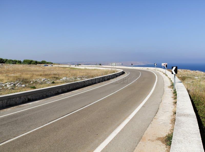 Download Coastal road stock photo. Image of luoghi, travel, landscape - 21946800