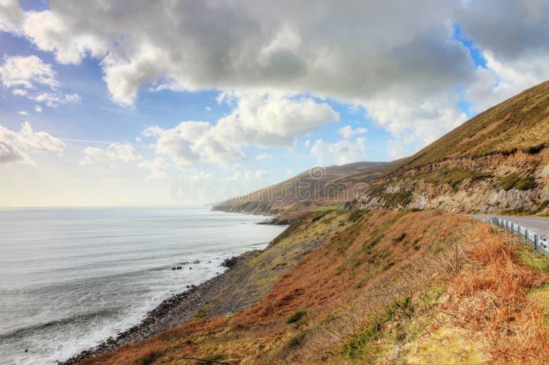 The Coastal Road Dingle In Ireland. Royalty Free Stock Photo