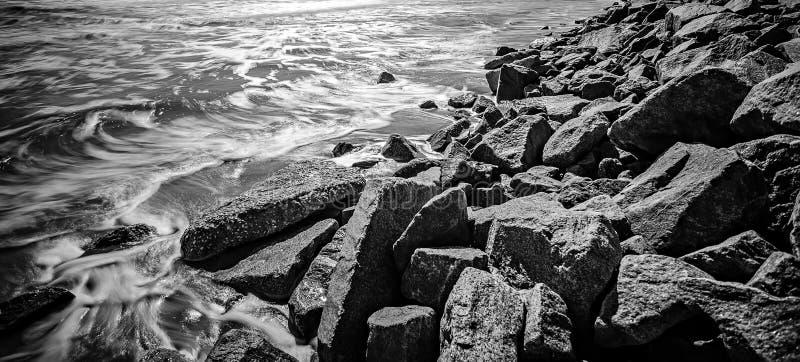 Coastal scenes around folly beach south carolina stock photos