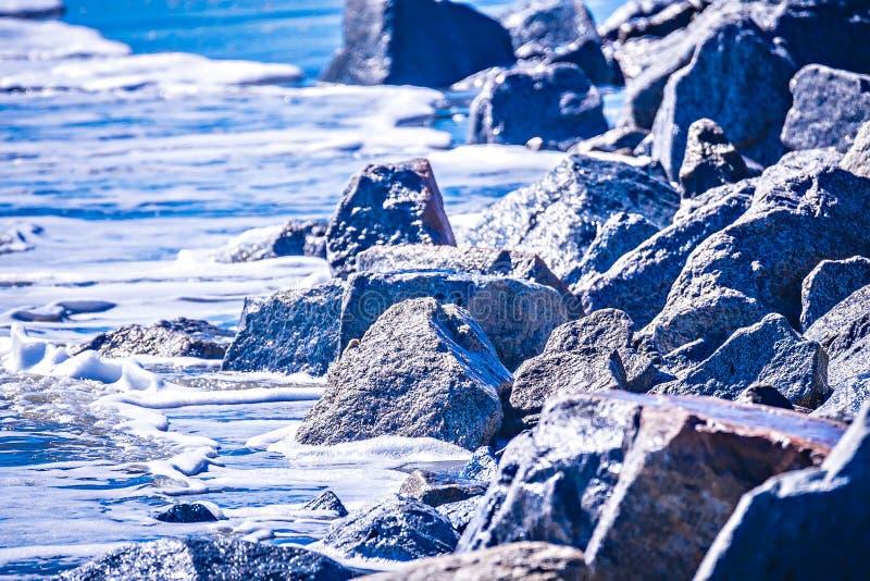 Coastal scenes around folly beach south carolina royalty free stock image