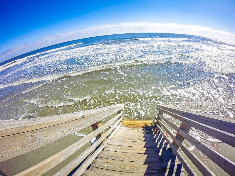 Coastal scenes around folly beach south carolina royalty free stock photography