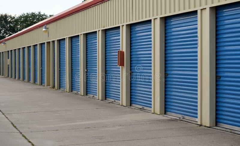 Coastal Storage Units. Row of coastal storage units stock photography