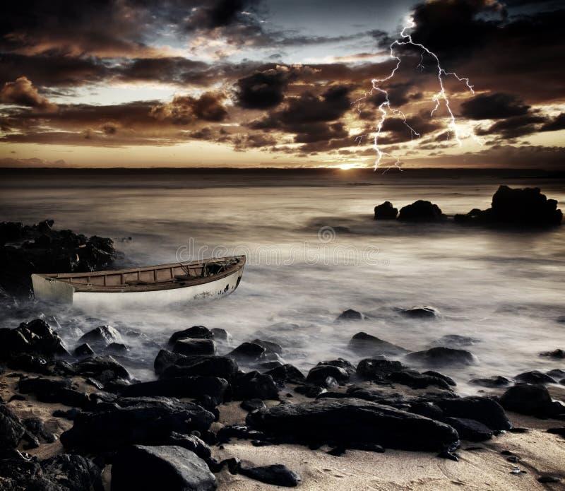 Coastal Storm royalty free stock photography