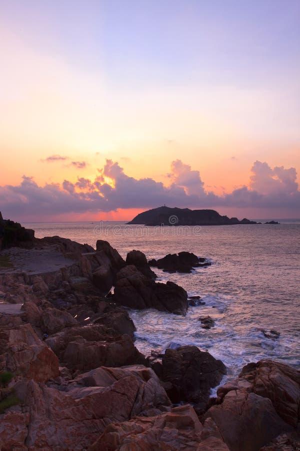 Free Coastal Sunrise Royalty Free Stock Photography - 10992427