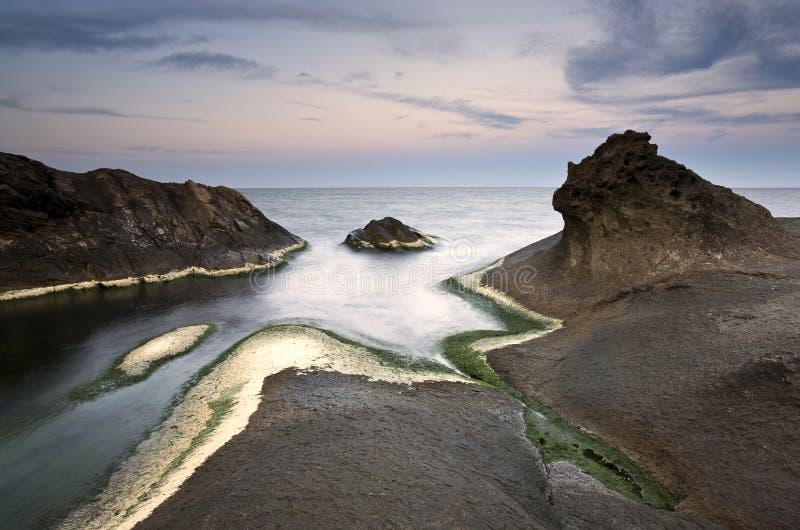 Download Coastal sunrise stock image. Image of exposure, shore - 23258459