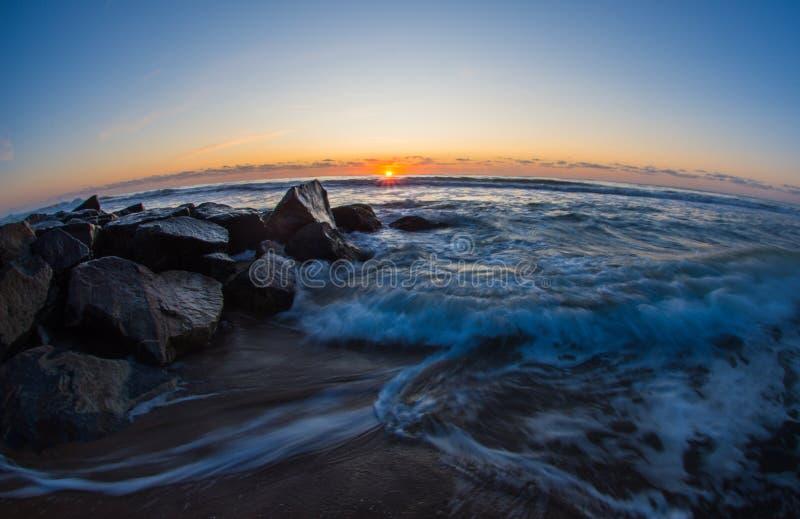 Coastal Sunrise royalty free stock image