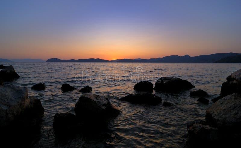 Download Coastal Sunset Royalty Free Stock Images - Image: 10612069