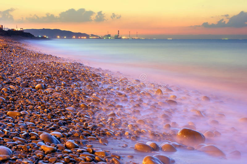 Download Coastal Sunset Near Taipei Haobor Stock Image - Image: 12816583