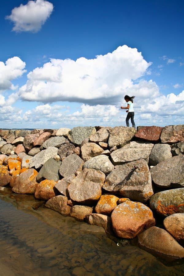 Coastal Sweden Royalty Free Stock Photos