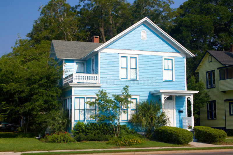 Coastal victorian home 6 stock photo