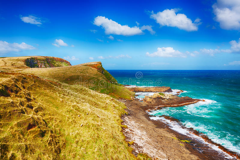 Coastal view royalty free stock photos