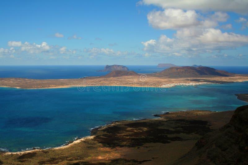 Coastal view stock photo