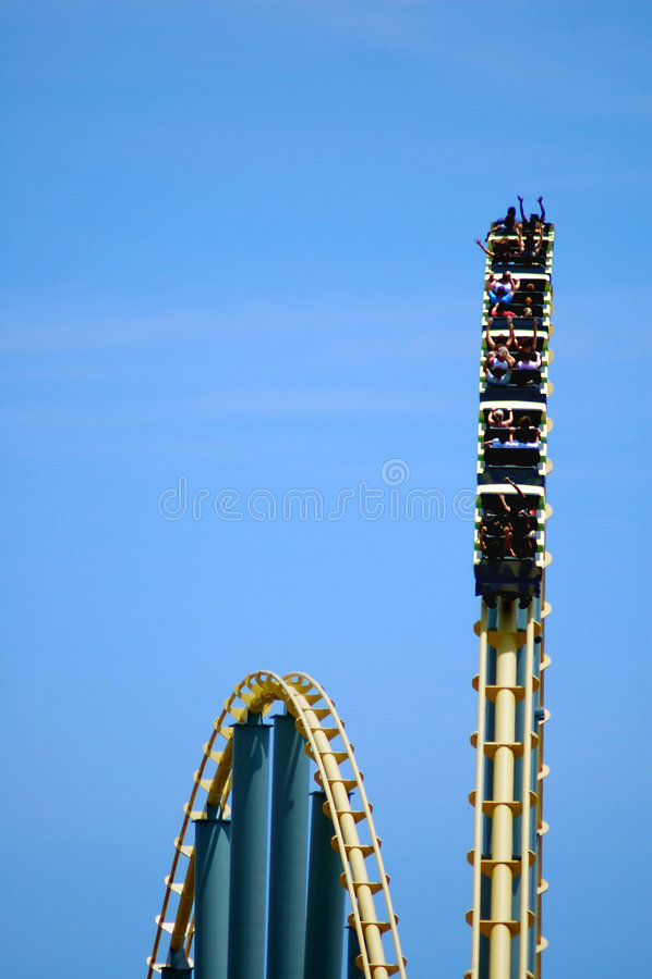 Download Coaster stock photo. Image of park, scream, high, coaster - 7207050