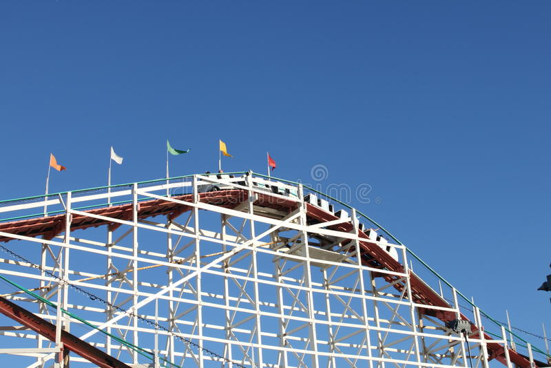 Coaster de Rolller imagem de stock