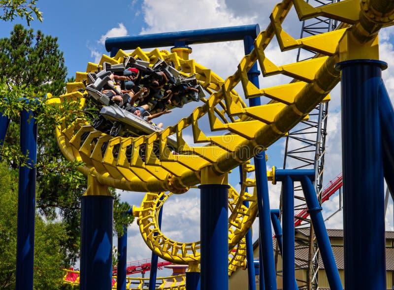 coaster prate roller vienna royaltyfri fotografi