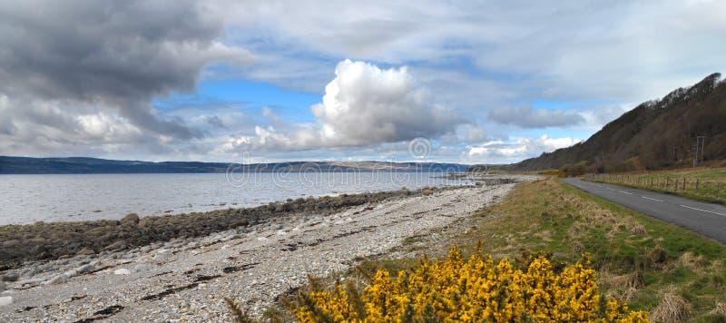 Coastine of the Isle of Arran - Scotland stock photos