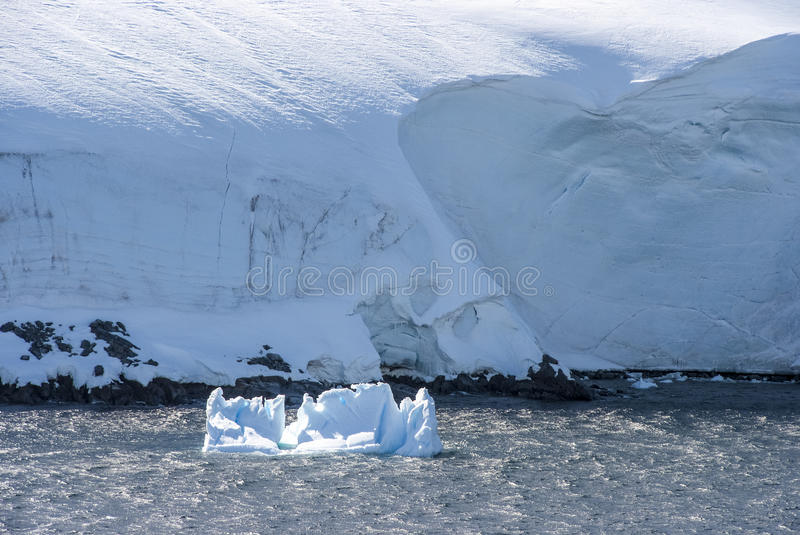 Download Coastline Of Antarctica With Ice Formations Stock Photo - Image of channel, geology: 39689988