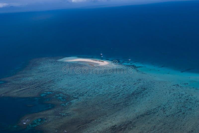 Coastline Australia_Great Barrier Reef. Great Barrier Reef at Coastline Australia royalty free stock images