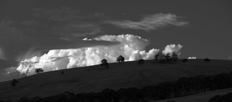 Coastline Australia_4063_jpg. On the horizon, the Blue Mountains, Coastline Australia, NSW, landscape stock photography
