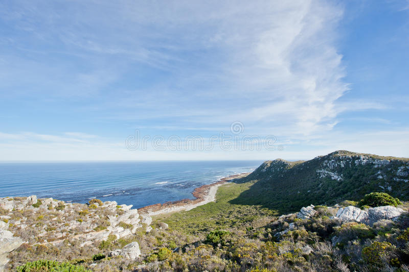 Download Coastline At The Cape Of Good Hope Stock Image - Image of national, travel: 20906965