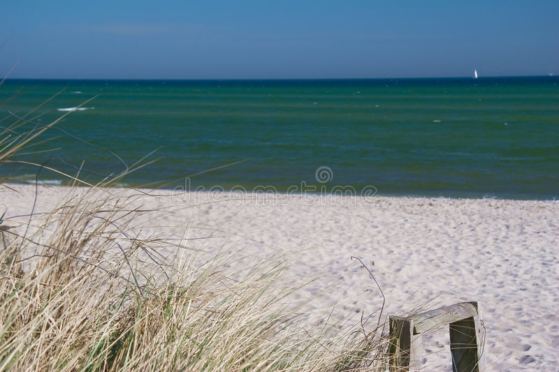 Download Coastline with dunes stock image. Image of shore, paradise - 2794395