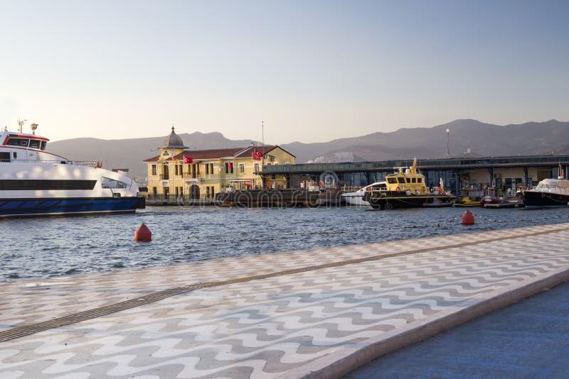 Izmir Smyrna / Turkey. Coastline in Izmir Smyrna / Turkey royalty free stock photo