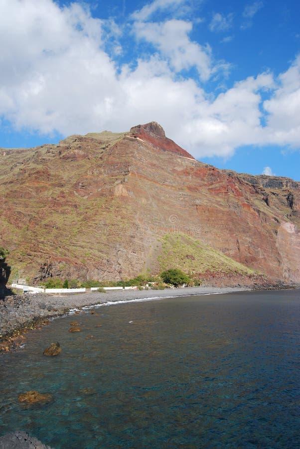 Coastline of La Gomera. Canary islands stock photos