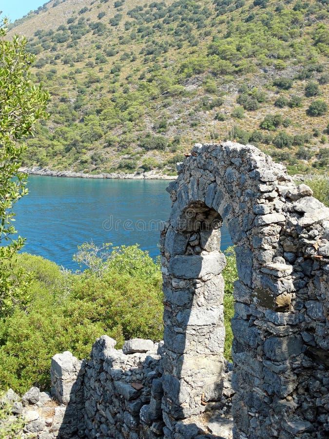 Download Coastline Landscape Of Mediterranean Sea Turkey Royalty Free Stock Image - Image: 33567496
