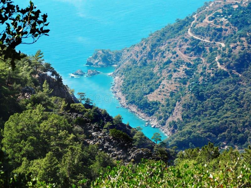 Download Coastline Landscape Of Mediterranean Sea Turkey Royalty Free Stock Photography - Image: 33469177