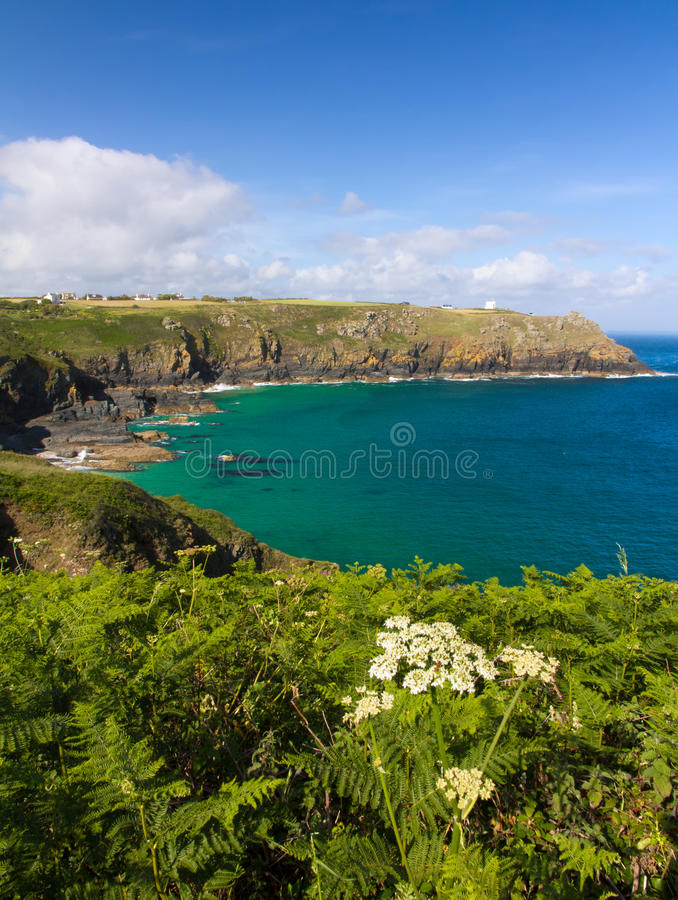 Coastline At The Lizard, Cornwall, England Royalty Free Stock Image