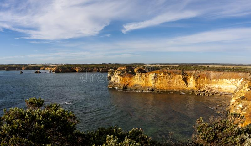 Coastline near Great Ocean Road. Port Campbell National Park, Victoria, Australia stock photo