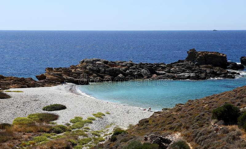 Coastline near Limeni village, Peloponnese, Greece. Coastline near Limeni village, in magne peninsula, Peloponnese, Greece royalty free stock images