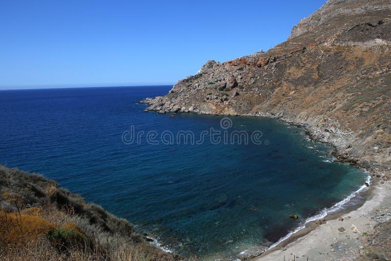 Coastline near Limeni village, Peloponnese, Greece. Coastline near Limeni village, in magne peninsula, Peloponnese, Greece stock photography